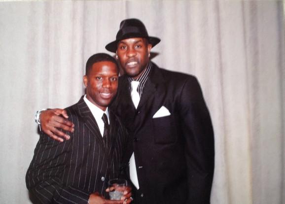 Kevin & Gary Payton Hall of Fame Basketball Player