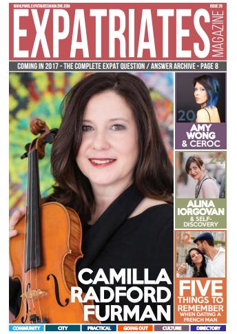 Expatriates magasine - cover