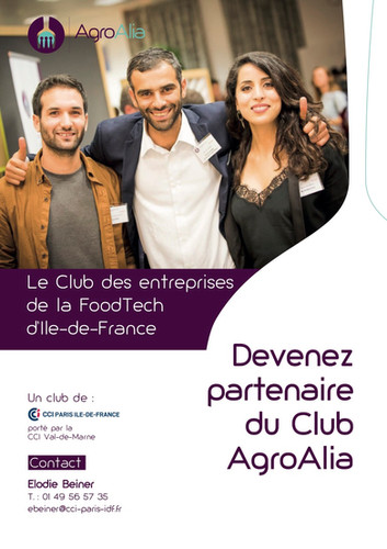 Plaquette partenariat AgroAlia