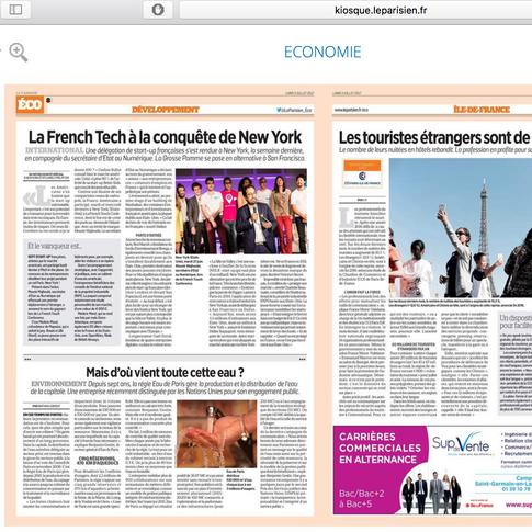 Le parisien économie pour LFTCNYC