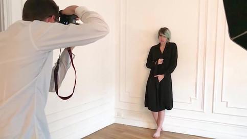 Model photoshoot & Backstage