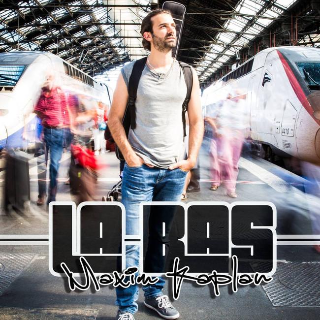 "Maxim Kaplan - Album cover ""La bas"""