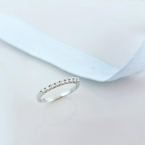 Half Eternity Ring-9D