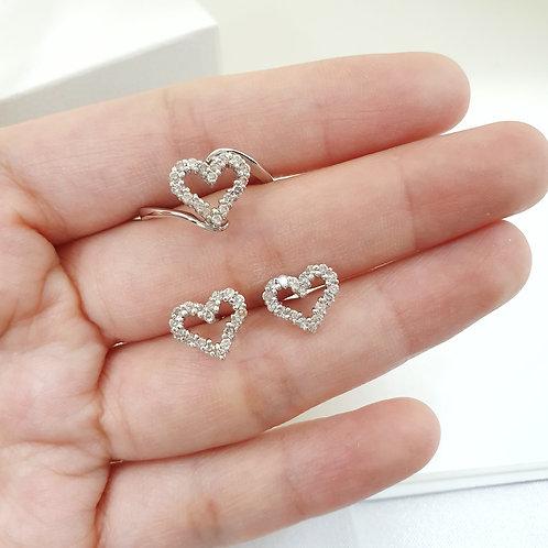 Open heart Diamond ER