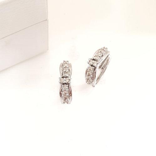 Clip Diamond Earrings