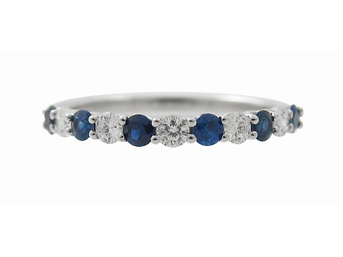 Dorothy Gale Blue Sapphire & Diamond Ring