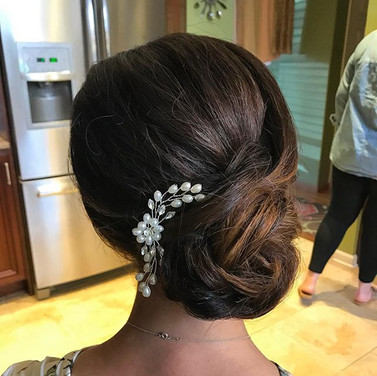 One of the fabulous bridesmaids from _kellybrocato and _peterfreiss wedding ! Congrats you two I wish you a lifetime of love and happiness ♥