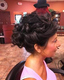 #bridalhair #weddinghair #wedding #motherofthebride #hair #updo #formalhair #curls