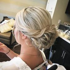 #updo #hair #wedding #weddinghair #blonde #bridesmaid #bridalhair #curls #firemonkeyhairdesign