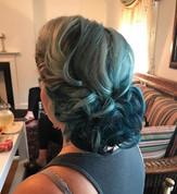 #vintagehair #vintage #updo #formalhair #bridesmaid #bridalhair #bridesmaidhair #wedding #weddinghair #hair #firemonkeyhairdesign