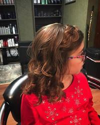 Holiday picture hair ! #holidays #christmas #longisland #newyork #hair #braid #curls #stonybrook