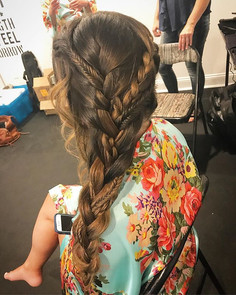 #braids #formalhair #wedding #updo #weddinghair #hair #bridesmaid