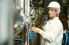 female engineer conducting an inspection