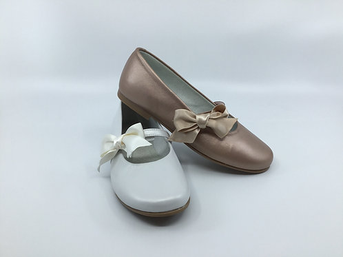 Geppetto Satin Bow Dress shoe