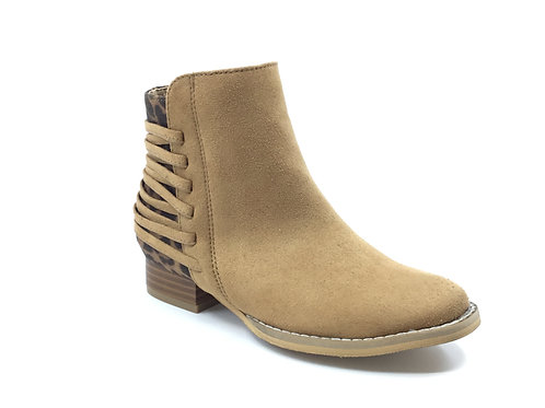 "Volatile ""Chipmunk"" Tan Ankle Boot"