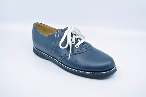 Youth Kesco Navy Saddle Oxford