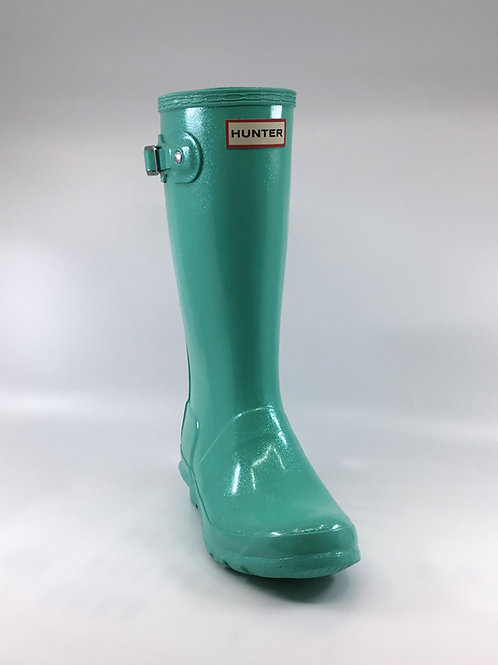 Hunter Rain Boot Ocean Swell Glitter