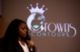 Britney Chambers, CEO, Crowns & Contours logo, black women, long hair, natural hair, glowing skin, how to get clear skin, 30 under 30, young CEO, black bosses, women CEO, people you should know, black women you should know
