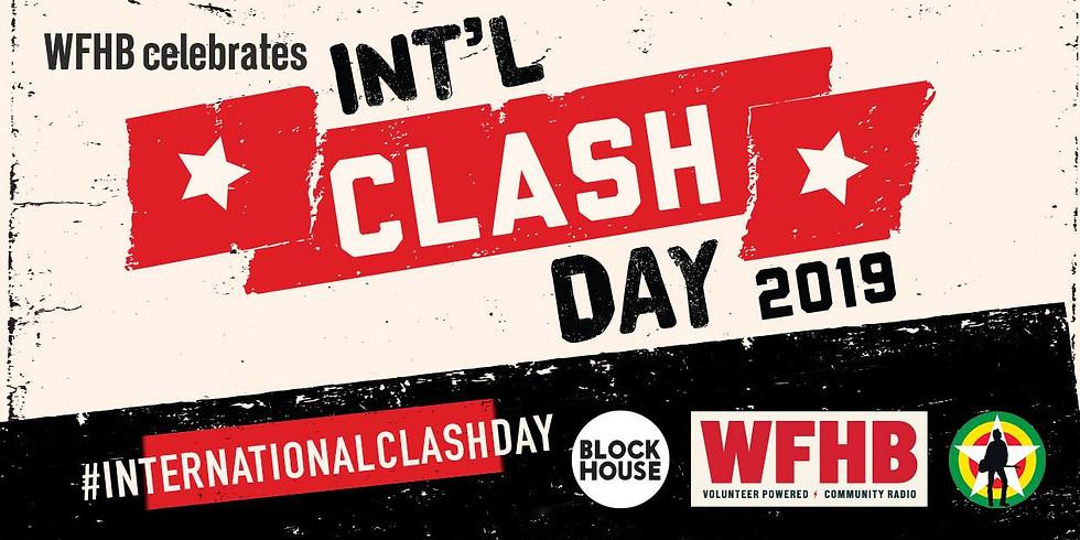 International Clash Day with WFHB DJs