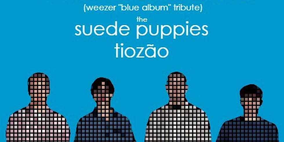 Wakefield (=w= Blue Album Tribute), w/ Suede Puppies, Tiozao