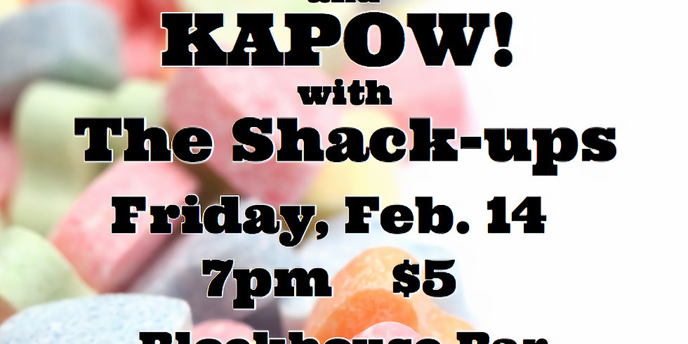 V-Day Benefit For Middleway House w/ Opal Fly & The Shack Ups