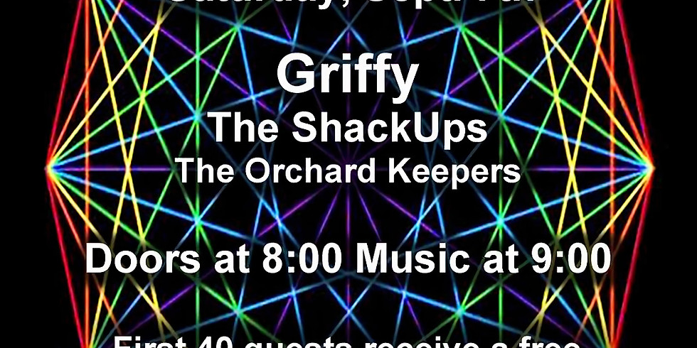 Griffy Album Release w/ The Shack Ups and The Orchard Keepers