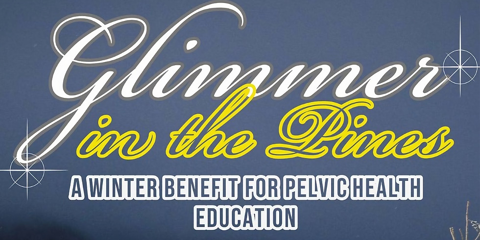Glimmer in the Pines : Benefit Dance Party