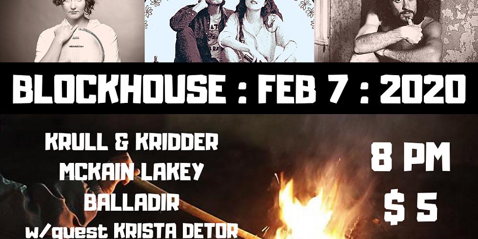 Krull & Cridders, Belladir, and Mckain Lakey