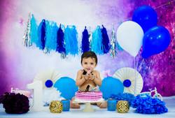 Indoor Baby Photographer | Cakesmash Photographer | Hyderabad