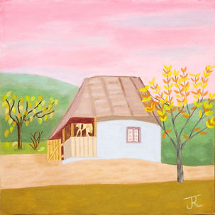 Petite maison dans la campagne 30X30 B