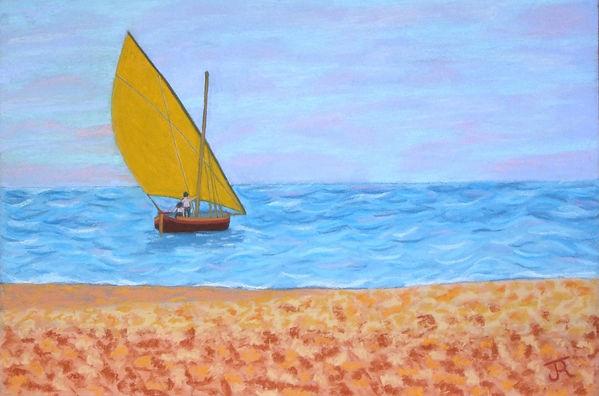 Barque_à_la_voile_jaune_B_72_G_-Of_-_c