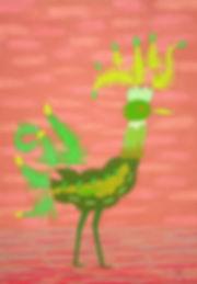 L'oiseau feuille vert B 72 G - copie 2.j
