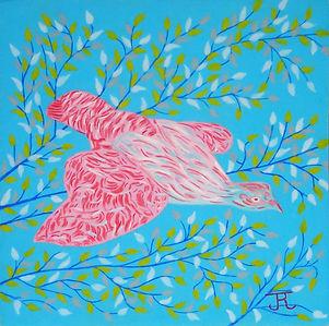 L'oiseau rose  - Fournel - copie.JPG