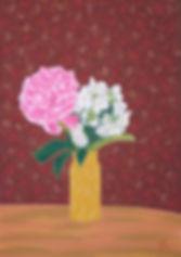 Bouquet au pot jaune B 72 G  - copie.jpg