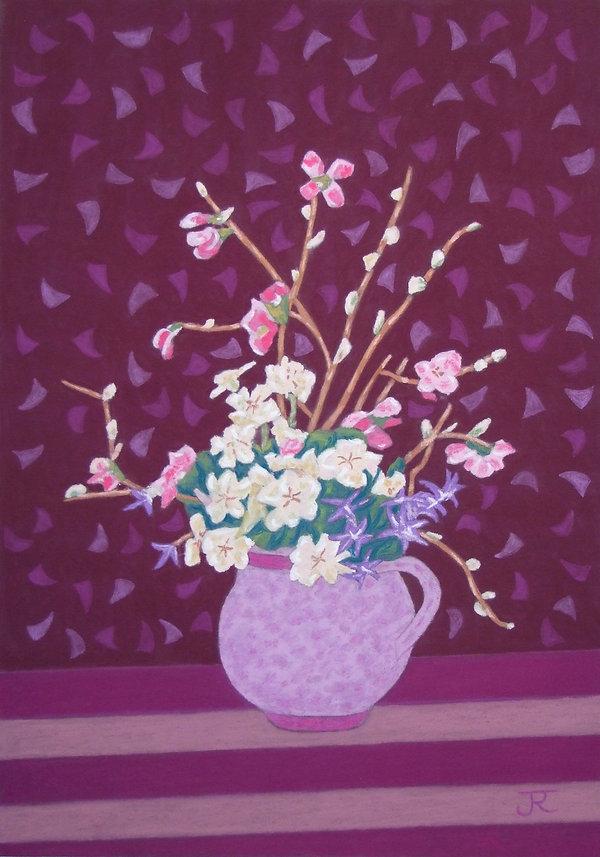 Bouquet du printemps A 72 G Isabelle - c