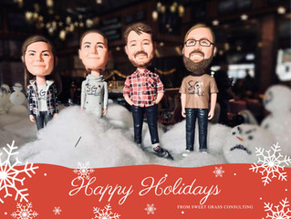 Happy Holidays from Sweet Grass Consulting!