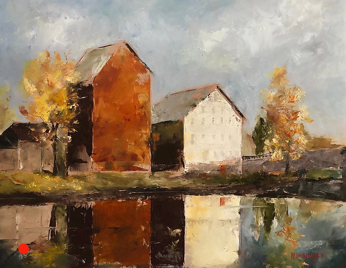 Reflections of Prallsville Mills