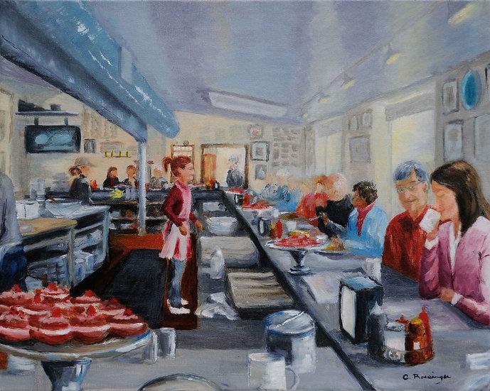 Fred's Breakfast Club, New Hope, PA