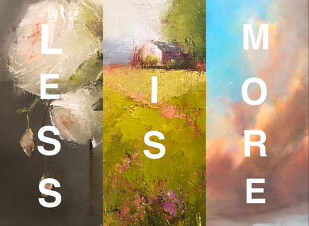 Less is More:  Finding the Essence of Your Art