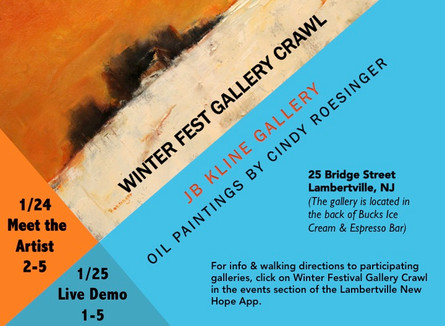 Winter Festival Gallery Crawl