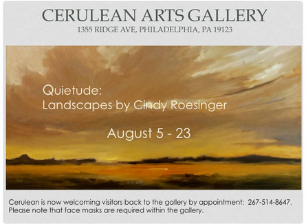 Quietude:  Landscapes by Cindy Roesinger