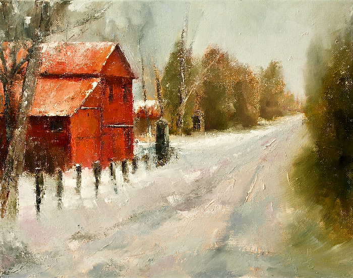 Winter at the Prallsville Mills