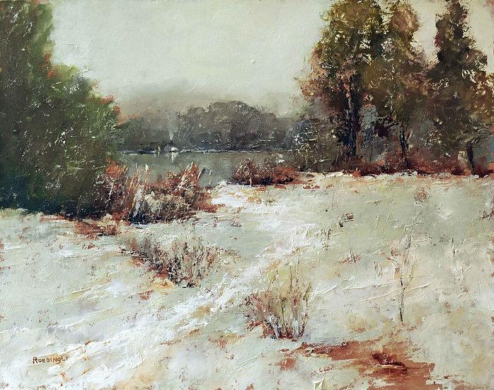 Winter on the Delaware