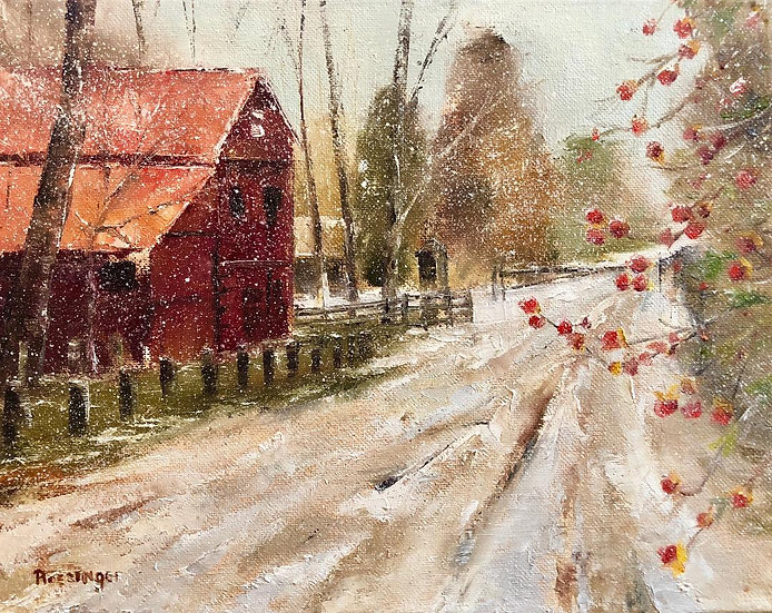 Winter at the Prallsville Mills