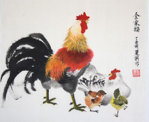 Hahnfamilie