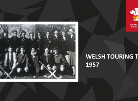 1957 WALES LADIES' HOCKEY TOUR TO THE USA