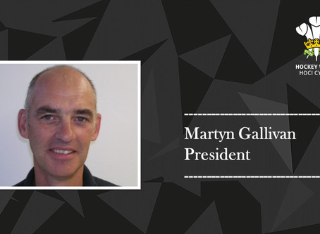 New President of Hockey Wales announced.