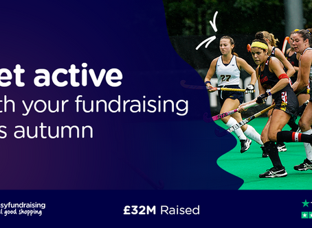 GET ACTIVE WITH CLUB FUNDRAISING THIS AUTUMN