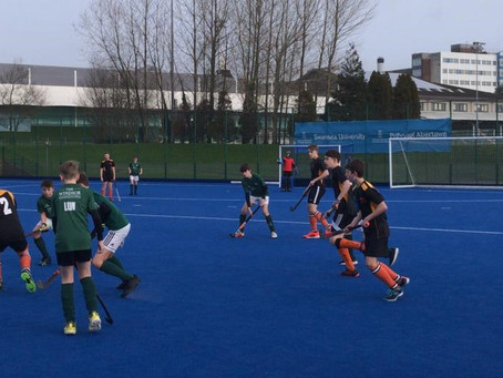 HOCKEY WALES U15 AND U18 BOYS RESCHEDULED CUP QUALIFIERS: ROUND UP