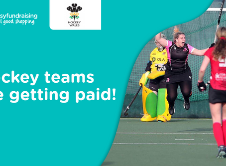 SPORTS TEAMS ARE RECEIVING THEIR EASYFUNDRAISING FUNDING